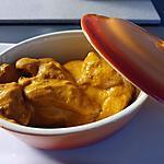 recette Butter chicken ou poulet au beurre (Murgh Makhani)