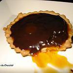 recette Tarte chocolat - caramel beurre salé
