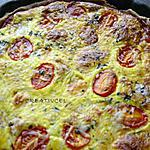 recette tarte tomates/estragon/fromage (prépa 20mns)
