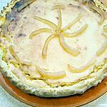 recette tarte de semoule a l'orange