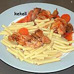 recette Poulet à la tomate au cookéo