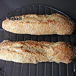 recette Baguettes magiques aux graines de sésame