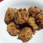 recette Acras de crabe