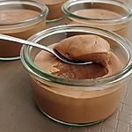 recette délicieuse crème vegan au chocolat et praliné