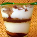 recette Tiramisu au chocolat en verrines....