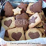 recette Biscuits de Noël chocolat noisettes et cannelle