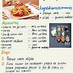 recette Salade de papaye verte