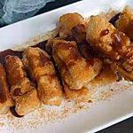 recette Gâteau de riz gluant à la cassonade