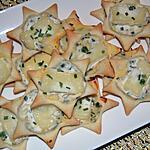 recette Etoiles Ricotta au fromage de chèvre