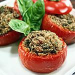 recette TOMATES  GRATINEE  ALLA PUGLIESE