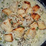 recette Crémeux de Chou-Fleur a la Parmesane et Ses Petit-Pois