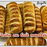 recette PAINS AU LAIT MOELLEUX