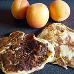 recette blinis aux abricots et à la lavande (prépa 10mns)