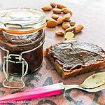 recette PÂTE À TARTINER CHOCOLAT PISTACHE sans gluten, sans lait, avec ou sans sucre