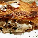 recette Lasagnes aux Champignons De Paris et Parmesan