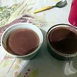 recette Crème simplette au chocolat