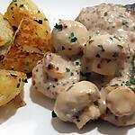 recette Cotes de porc Forestière