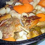 recette Cuisses et manchons de canard au four et leurs légumes