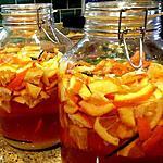recette Vin d'oranges amères de tante Irène