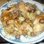 recette Lapin aux petits champignons de paris