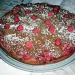 recette Fondant chocolat framboise