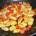 recette Gnocchis aux tomates cerises