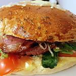 recette Burger Montagnard