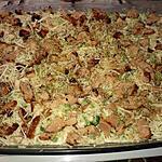 recette Gratin riz poulet et brocolis