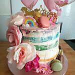 recette Gâteau arc en ciel