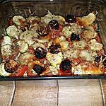 recette Tian de courgettes et blé au chorizo