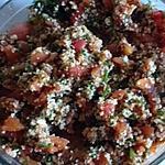 recette taboulé au tomate pelée