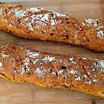 recette Baguettes AndalOuse aux Herbes et ChOrizO