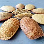 recette Délicieuses madeleines sans gluten sans lactose sans oeuf