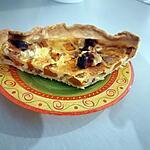 recette Tarte butternut, lardons et chèvre avec un soupçon de miel