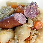 recette saucisses de montbéliard au choux