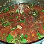 recette Sauce tomate relevée