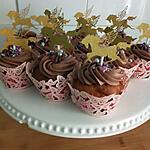 recette Cupcakes ganache chocolat
