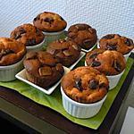 recette Délicieux muffins légers et moelleux framboises chocolat blanc