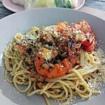 recette Spaghettis sauce aux gambas