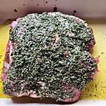 recette épaule d'agneau rôtie aux herbes