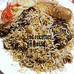 recette Briani poulet (riz épicé)