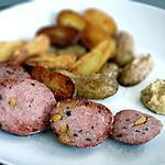 recette saucisson à cuire de Lyon et pommes de terre grenailles
