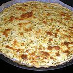 recette Quiche aux courgettes et thon