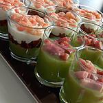 recette Verrine courgette lardon