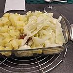 recette Saucisses au chou vert à la vapeur de Gewurztraminer