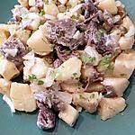 recette salade de pommes de terre au boeuf