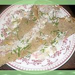 recette Galette de sarassin aux coques