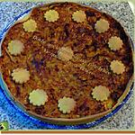 recette Quiche aux légumes sur une pâte brisée