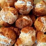 recette Petits choux fourrés à la mousse de jambon