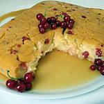recette gâteau de semoule aux groseilles